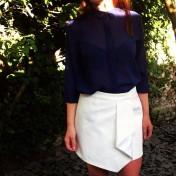 asymmetric skirt tutorial